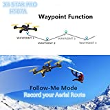 Hubsan-H507A-X4-Star-Pro-FPV-Quadcopter-720P-HD-Camera - App - GPS - RC: automatisch
