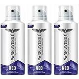 Park Avenue NEO 140 ml each Perfume Body Spray - For Men (420 ml, Pack of 3)