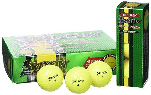 Srixon Soft Feel Tour Giallo Palline Da Golf (12 Palline) 2014