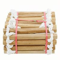 BAI-Fine Climbing Rope Ladder Swing Indoor And Outdoor 5M Rungs Climb Hang Ladder For Kids Garden Game Sports Toys Exercise Equipment