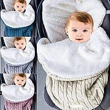 Manta para bebé con forro polar para cochecito de bebé + terciopelo