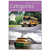 Picture My Picture Categorie Flash Cards   Carte Linguaggio Inglese per Bambini e Adulti   Materiale ABA Autismo - Giochi Educativi Autismo