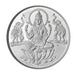 Sri Jagdamba Pearls Laxmi Silver Coin