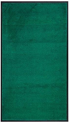 Andersen 1962964 Classic Impressions Plus Solid Nylon Faser Innenraum Bodenmatte, Nitrilgummirücken, 1224 g/sq. m, 85 cm Breite x 150 cm Länge, Türkis -