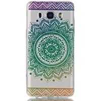 Galaxy J5 2016 Hülle,Samsung Galaxy J5 2016 Hülle,JAWSEU Schön Mandala Blumen Muster Dünne Soft Gel Silikon Handycover... preisvergleich bei billige-tabletten.eu