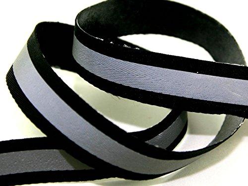 Minerva Crafts Eisen auf Reflektierende Gurtband Tape-Pro 3Meter - Reflektierende Eisen Auf