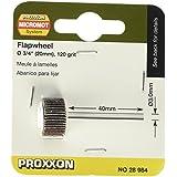 Brosse abrasive Proxxon Micromot granulation K120 20x10mm