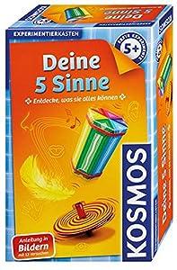 Kosmos 602437 Kit de experimentos Juguete y Kit de Ciencia para niños - Juguetes y Kits de Ciencia para niños (Física, Kit de experimentos, 5 año(s), Multicolor, CE, 132 mm)