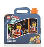 Lego Lizenzkollektion 40591750 - The Movie Brotdose und Trinkflasche, Motiv: Emmet