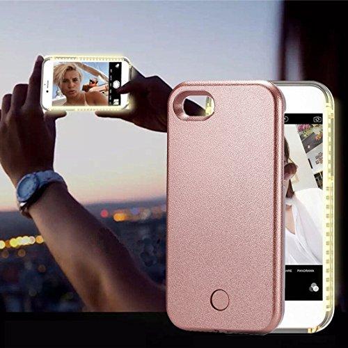 GHC Cases & Covers, Für iPhone 8 & 7 LED leuchten Selfie Smartphone schützende Rückseite Fall ( Size : Ip7g8460rg - Speck Handy Brieftasche