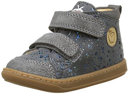 Shoo Pom Bouba Bi V, Chaussures Premiers Pas Bébé Fille Gris (Drops Grey)