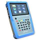 SUMMIT SCT 835 Kombi Messgerät für SAT (DVB-S/S2), Terrestrisch (DVB-T/T2), Kabel (DVB-C) und IPTV