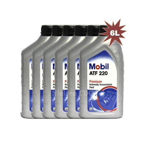 Mobil ATF 220Premium fluido trasmissione automatica 1424566x 1L = 6L