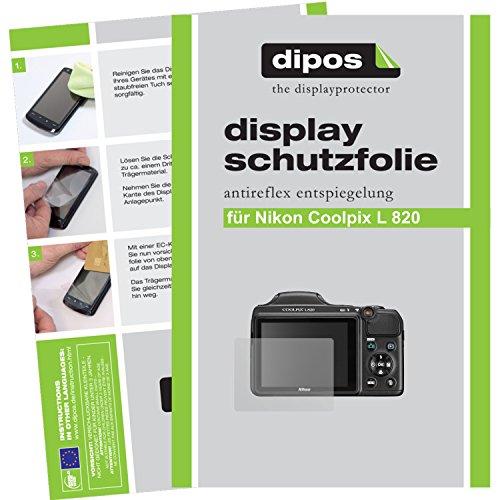 dipos-nikon-coolpix-l820-schutzfolie-6-stuck-antireflex-premium-folie-matt