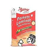 Poliboy Parkett Laminat Feuchttücher, 15 Stück