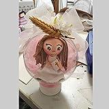 Muñeca fofucha vestida de comunión