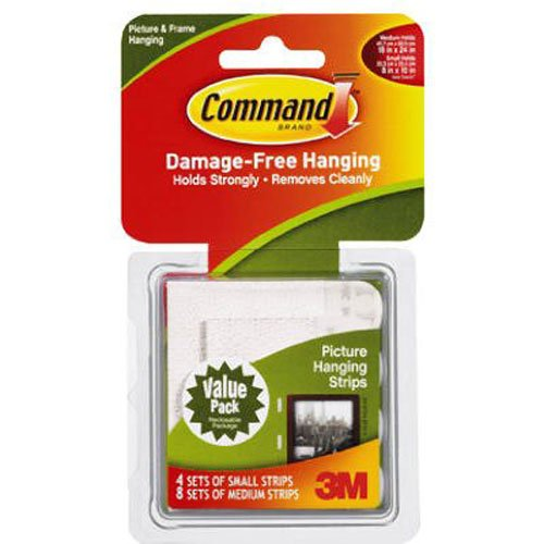 Command Picture Hanging Strips Value Pack