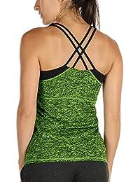 a6151ff93b Amazon.it  Yoga - Reggiseni sportivi   Intimo sportivo  Abbigliamento