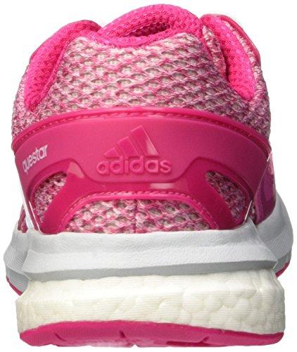 adidas Questar W, Chaussures de Running Compétition Femme Rosa / Blanc (Eqtros / Ftwbla / Gritra)