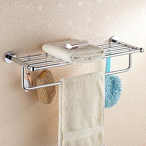 MDRW-Handtuchhalter Kupfer Haken Dicker Fetter Badezimmer Doppelzimmer
