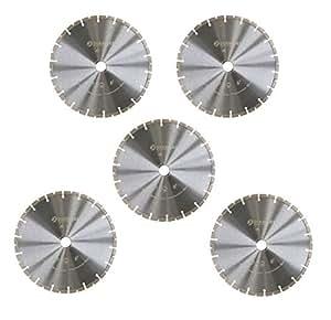 5 x diamant trennscheibe 230 mm f r beton allg baumaterialien pflasterstein mauerwerk. Black Bedroom Furniture Sets. Home Design Ideas