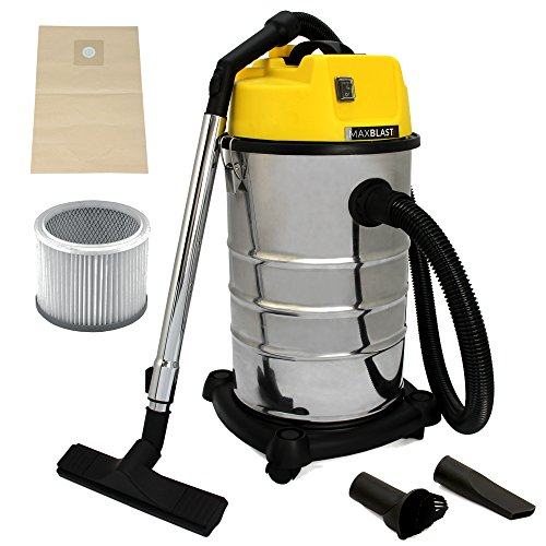 maxblast-industrial-wet-dry-vacuum-cleaner-attachments-powerful-1400w-30-litre-cleaning-system