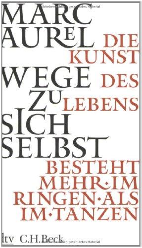 Buchseite und Rezensionen zu 'Wege zu sich selbst' von Marc Aurel