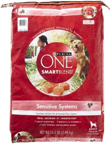PURINA O.N.E. 178580 One Sensitive Systems for Dogs, 16.5-Pound by Phillips Feed & Pet Supply