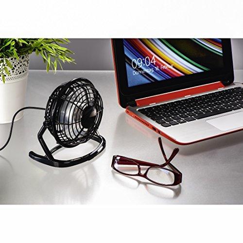 Hama USB Desk Fan Schwarz - Ventilatoren (Schwarz) - Bild 2