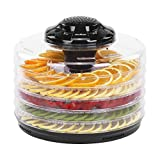 VonShef 5 Tier Food Dehydrator with Adjustable Temperature Control