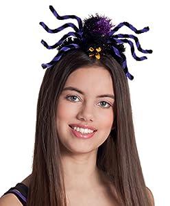 Boland Venda púrpura araña de Halloween mujer adulta - One Size