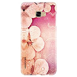 iSweven Red Cat design printed matte finish back case cover for Samsung Galaxy C5 Pro