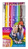 Depesche 6694 - TOPModel Buntstifte Basic Farben, 12er Etui