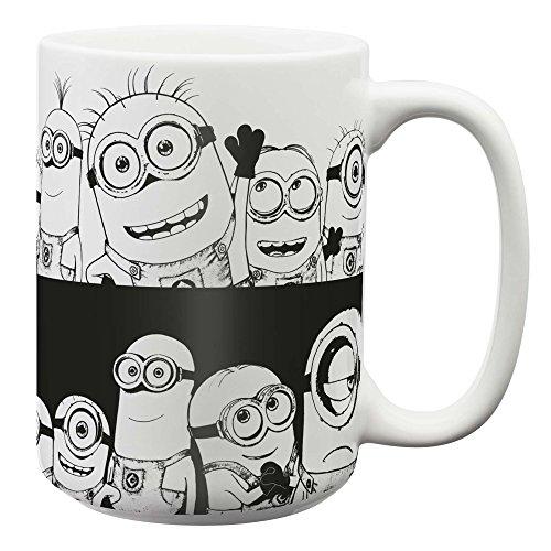 Zak Designs DESW-1597 Despicable Me Kaffeetassen, keramik, L