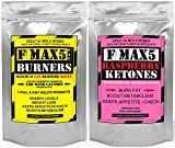 Max Fat Burner Capsules Plus Raspberry Ketones Combo - Strongest Slimming Weight Loss Diet Pills - 1 Month supply of each