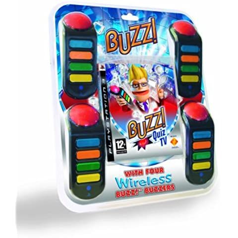 Buzz! Quiz TV with Buzzers (PS3) [Importación Inglesa]