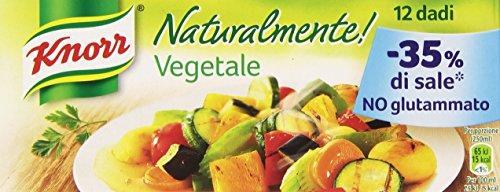 Knorr - Dado Vegetale, senza Glutammato - 12 dadi - [confezione da 12]