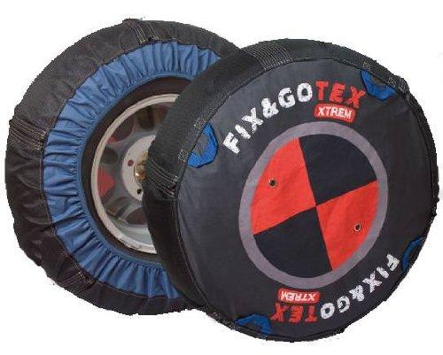 Fix&Gotex - Xtrem - Chaines Neige Textile 4X4 - Suv - Fix&Gotex Xtrem - Réf : Q1 265/75/15 325/60/15 215/85/16 235/16 235/80/16 265/70/16 245/70/17 265/65/17 235/65/18 265/60/18 275/50/19 235/55/20 255/50/20 265/50/20 295/45/20