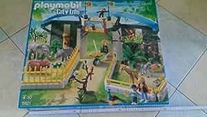 playmobil 5921 grand ZOO avec les BEBES ANIMAUX