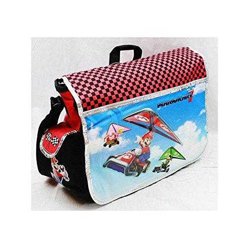 Preisvergleich Produktbild Messenger Bag - Nintendo - Super Mario & Luigi Kart 7 New School Bag nn10841 by Nintendo