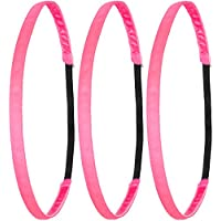 Anti-Rutsch Haarband f/ür Mutter//M/ütter /& Kinder//Kind Kinderhaarband IAMKID214 Ivybands/® Moms /& Kids Edition 2-er Pack Neon Pink Superthin Edition