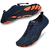 hiitave Mens Trail Running Shoes Barefoot Wide Fit Cross Trainers Water Shoes