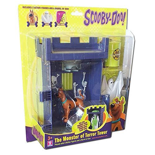Scooby Doo Das Monster des Terrors Turm mit 2 Figuren (Spielzeug Doo-monster Scooby)