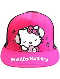 e67a79141a4 Official Licensed Hello Kitty Black Pink Baseball Cap Age 4-8 Years  Adjustable
