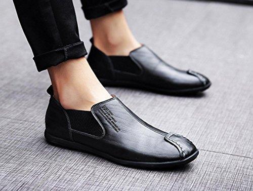 ZCH Chaussures pour hommes Chaussures décontractées pour hommes Chaussures de sport en plein air Chaussures de course black