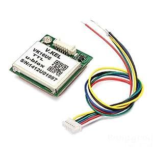 Versand kostenlos 1-5Hz VK16U6 Ublox TTL Modul GPS antenne/TTL/1-5Hz VK16U6 Ublox GPS Module With Antenna
