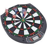ALCST&CX Elektronische Dartscheibe, elektronisches Elektronik Dartboard Dart Scheibe elektronisch Dartautomat E Dartboards,18 Spielen und 159 Varianten für 8 Spieler