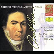 Beethoven: The Middle Quartets (Complete Beethoven Edition Vol.12)