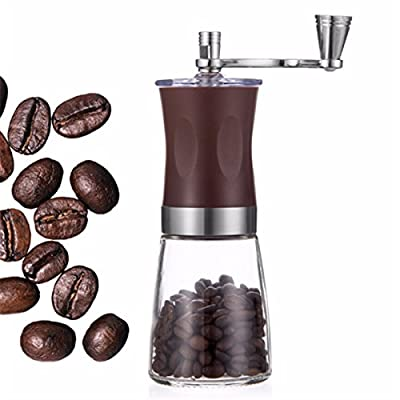 Baban Hand Coffee Grinder Mini Manual Coffee Grinder Ceramic Burr Mill from Klsmoin