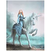 Anne Stokes Lienzo 19x25cm mdoelo Journey Starts (Talla Única/Multicolor)